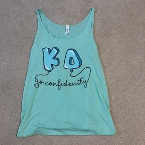 Kappa Delta - Confidence Week Tank Top